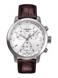 Poze Ceas barbatesc Tissot PRC 200 Quartz Chronograph Steel White