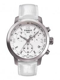 Poze Ceas barbatesc (unisex) Tissot PRC 200 Quartz Chronograph Steel White 2