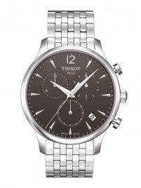 Poze Ceas barbatesc Tissot Tradition Chronograph Steel Black