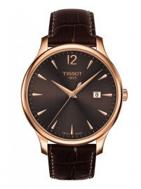 Poze Ceas barbatesc Tissot Tradition Gent Gold Brown