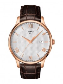 Poze Ceas barbatesc Tissot Tradition Gent Gold White 2