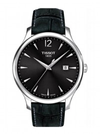 Poze Ceas barbatesc Tissot Tradition Gent Steel Black 2