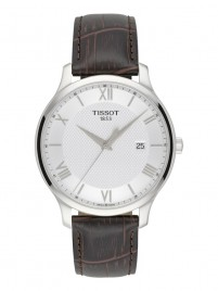Poze Ceas barbatesc Tissot Tradition Gent Steel White 2
