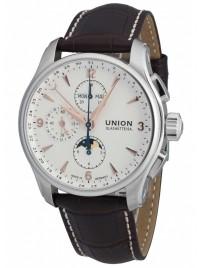 Poze Ceas barbatesc Union Glashutte Belisar Mondphase Chronograph D002.425.16.037.01
