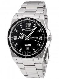 ceas Armand Nicolet J09 Steel Black Bracelet