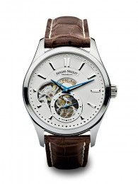 ceas Armand Nicolet L06 Small Second Steel White