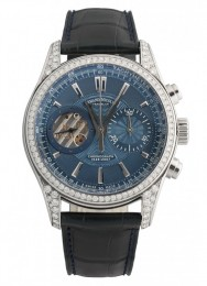 ceas Armand Nicolet L07 Venus Chronograph Steel Blue Diamonds