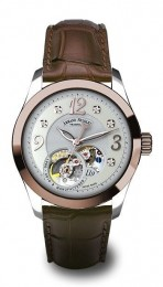 ceas Armand Nicolet LL9 Central Seconds Gold Steel White