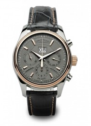 ceas Armand Nicolet M02 Big Date Chrono Steel Rose Grey
