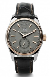 ceas Armand Nicolet M02 Big Date Small Seconds Steel Rose