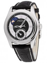 ceas Armand Nicolet M02 Moon Date Lady Steel Black 2