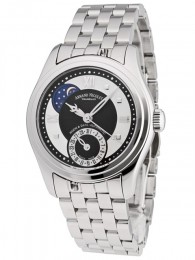 ceas Armand Nicolet M02 Moon Date Lady Steel Black 3