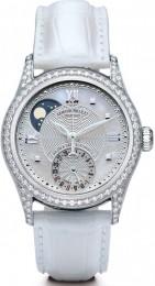 ceas Armand Nicolet M02 Moon Date Lady Steel Silver