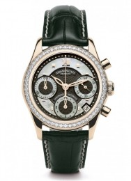 ceas Armand Nicolet M03 Chrono Rosegold Diamonds