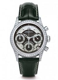 ceas Armand Nicolet M03 Chrono Steel Black Diamonds