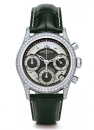 ceas Armand Nicolet M03 Chrono Steel Black Diamonds 2