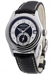 ceas Armand Nicolet M03 Small Seconds Date Steel Black