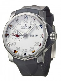 ceas Corum Admirals Cup Competition Steel White Rubber