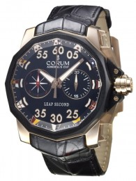 ceas Corum Leap Second Rose Gold