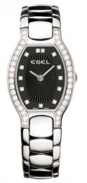 ceas Ebel Beluga Tonneau Diamonds Steel Black