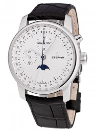 ceas Eterna Soleure Moonphase Chrono Steel