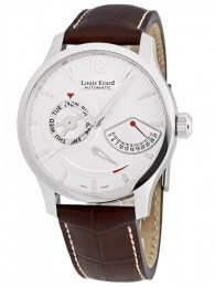 ceas Louis Erard 1931 Retrograde Steel 2