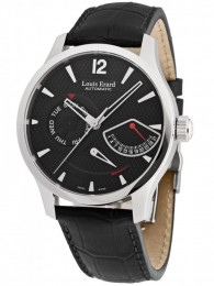 ceas Louis Erard 1931 Retrograde Steel Black