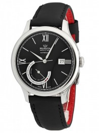 ceas Marvin Malton Round Automatic Steel Black
