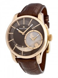 ceas Maurice Lacroix Pontos Decentrique GMT Rose Gold