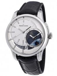 ceas Maurice Lacroix Pontos Decentrique GMT White