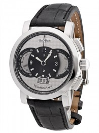 ceas Paul Picot Technograph Steel Silver