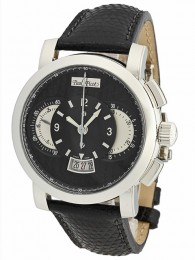ceas Paul Picot Technograph Wild Steel Black