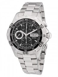 ceas Tag Heuer Aquaracer Chronograph Steel Black