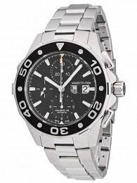 ceas Tag Heuer Aquaracer Steel Black