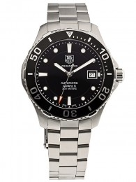 ceas Tag Heuer Aquaracer Steel Black 4
