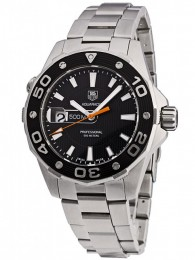ceas Tag Heuer Aquaracer Steel Black 6