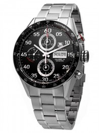 ceas Tag Heuer Carrera Automatic Steel Black 3
