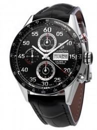 ceas Tag Heuer Carrera Automatic Steel Black 4