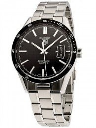 ceas Tag Heuer Carrera Automatic Steel Black 5