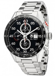 ceas Tag Heuer Carrera Automatic Steel Black 6