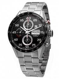 ceas Tag Heuer Carrera Chronograph DayDate Steel Black