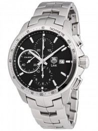 ceas Tag Heuer Link Automatic Steel Black