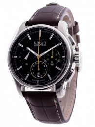 ceas Union Glashutte Belisar Automatic Steel Black