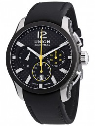 ceas Union Glashutte Belisar Automatic Steel Black 2