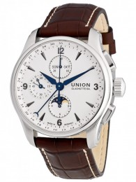 ceas Union Glashutte Belisar Moonphase Steel