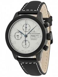 ceas Zeno Watch Basel Clou de Paris Black Silver
