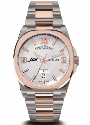 poza Armand Nicolet J09 Day Date Automatic 8650AASM8650