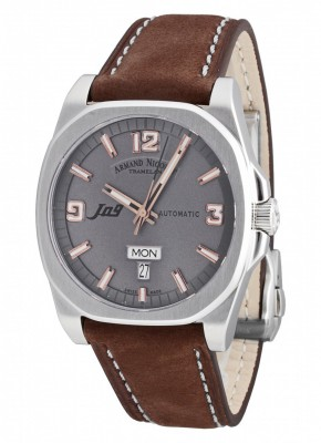 poza Armand Nicolet J09 Day-Date Automatic 9650AGSP865MR2