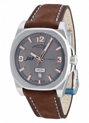 poza ceas Armand Nicolet J09 Day-Date Automatic 9650AGSP865MZ2