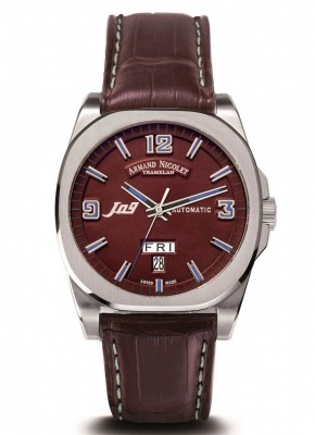 poza ceas Armand Nicolet J09 Day-Date Automatic 9650AMRP965MZ2